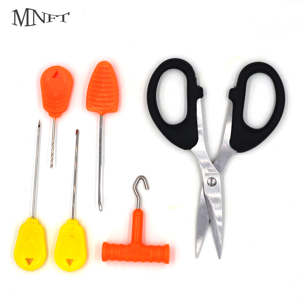 Scissor /& Needle Bait and Rig making tool Set Puller