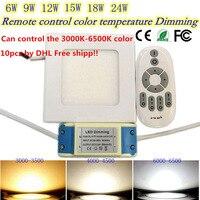 2 4G Dimmable Ultrathin Led Panel Light Led Ceiling Lamp 85 265v 6w Square Led Downlight