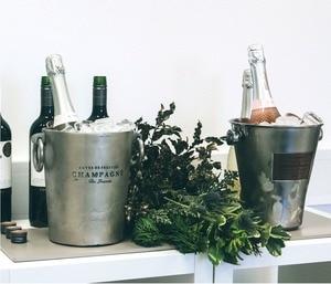 Image 4 - מעגל שמחה נוצץ יין מיני שמפניה מיני פקק יין פקק סיבובי מנעול DesignVacuum יעיל שימור
