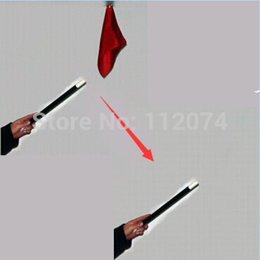 Vanishing Silk Wand/Cane Magic Tricks Disappearing Scarve Magia Stage Accessories Props Gimmick Mentalism Commedy FunnyVanishing Silk Wand/Cane Magic Tricks Disappearing Scarve Magia Stage Accessories Props Gimmick Mentalism Commedy Funny