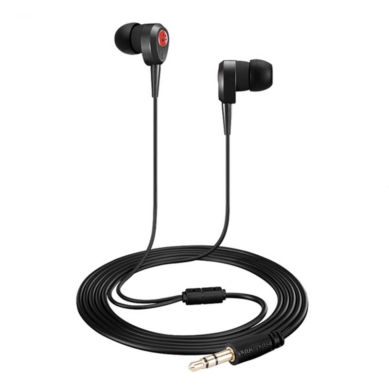 Original TAKSTAR HI1010 Dynamic In Ear HiFi Stereo Recording Monitor Earphones Music Entertainment Headsets sur s525 dynamic stereo music in ear earphones drive by wire