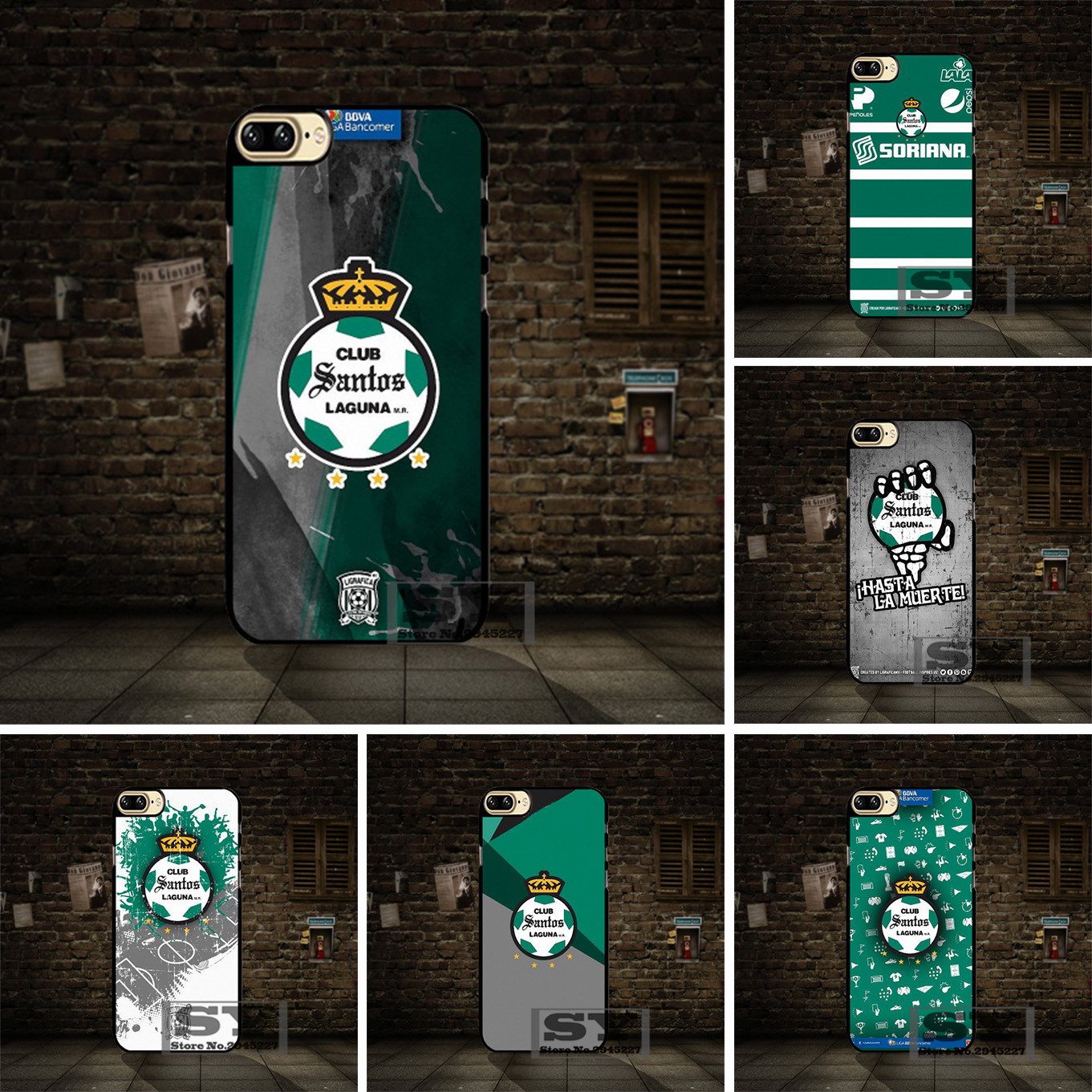 buy online cfc95 2183f US $4.99  Santos Laguna cell phone Case Cover For Samsung Galaxy S2 S3 S4  S5 Mini S6 S7 S8 Edge Plus A3 A5 A7 Note on Aliexpress.com   Alibaba Group