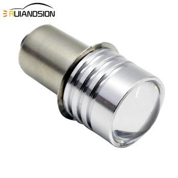 1pc P13.5S PR2 0.5W DC 3V 4.5V 6V 12V 3smd 3030 פנס הנורה LED פנס הנורה החלפת חלק פנס אופני לפיד LED לבן