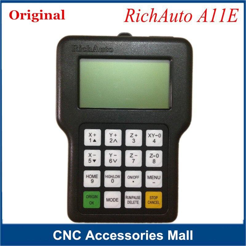 Télécommande de panneau de contrôleur DSP pour A11E. Version anglaise pour routeur/graveur de CNC CNC (poignée seulement)