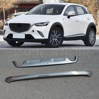 Stainless steel front and rear Bumper Protector Skid Plate cover fit for Mazda CX 3 cx3 2017 2019 Car styling