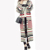 Suéter Listrado das mulheres calças de Comprimento No Tornozelo Senhoras Cardigan de Malha Blusas de Manga Longa Único Breasted O-pescoço Outerwear