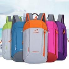 Outdoor Camping Travel Ultralig Backpack Men Women Waterproof Canvas Sport Running Climbing Rucksack Students School Bag
