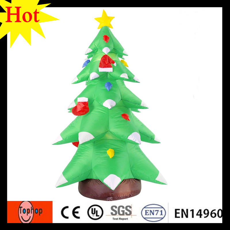 3m 10ft hot items 2017 new years products inflatable christmas tree led light storage 420d oxford in inflatable bouncers from toys hobbies on