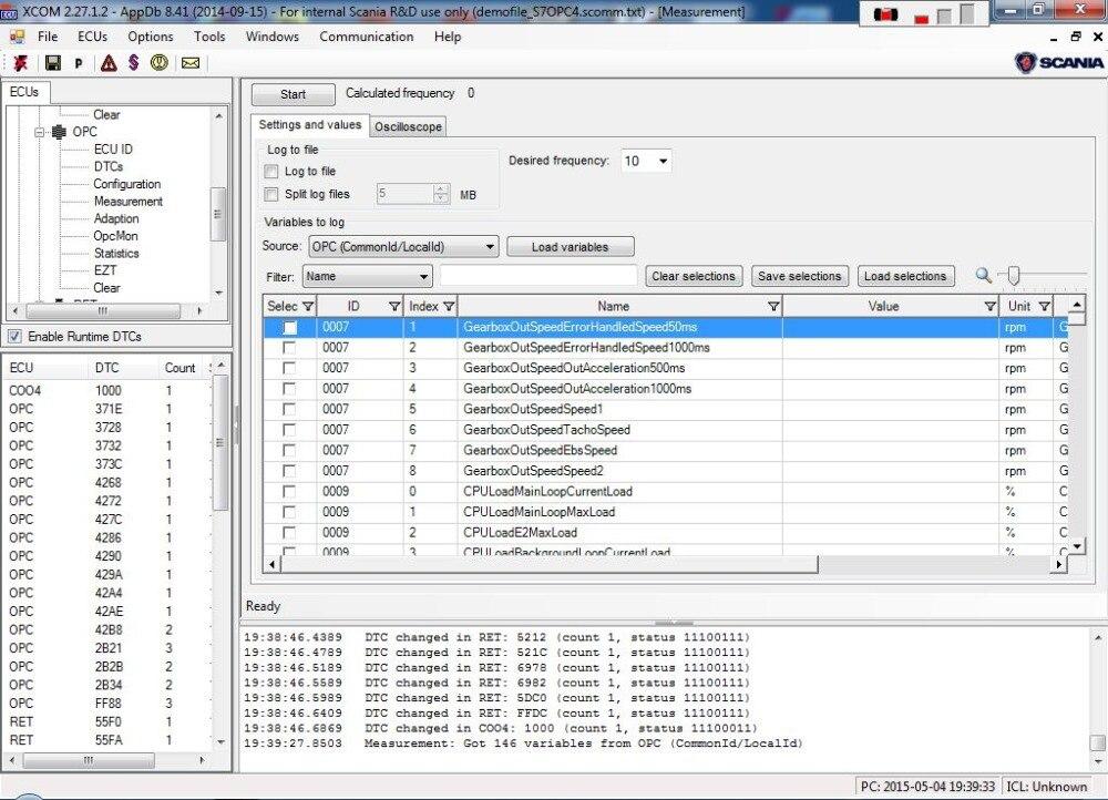 Scania XCOM | Scania trucks engineering software for coding