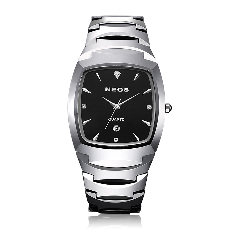 NEOS High-grade Mens Watch Tungsten Steel, Classic Fashion Style, With Calendar Waterproof, Hot Sale ...