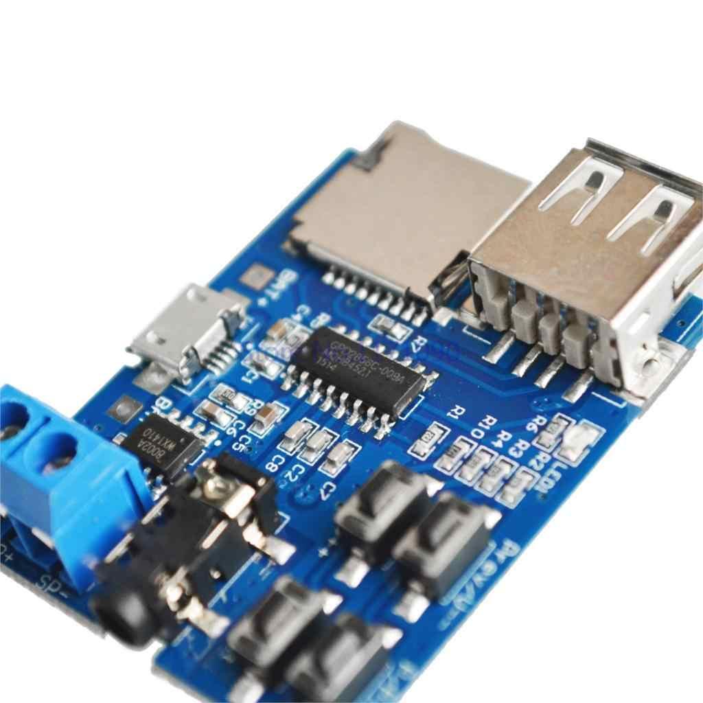 TF//U disco MP3 Amplificador de Placa Decodificador de formato de módulo de decodificación audio player