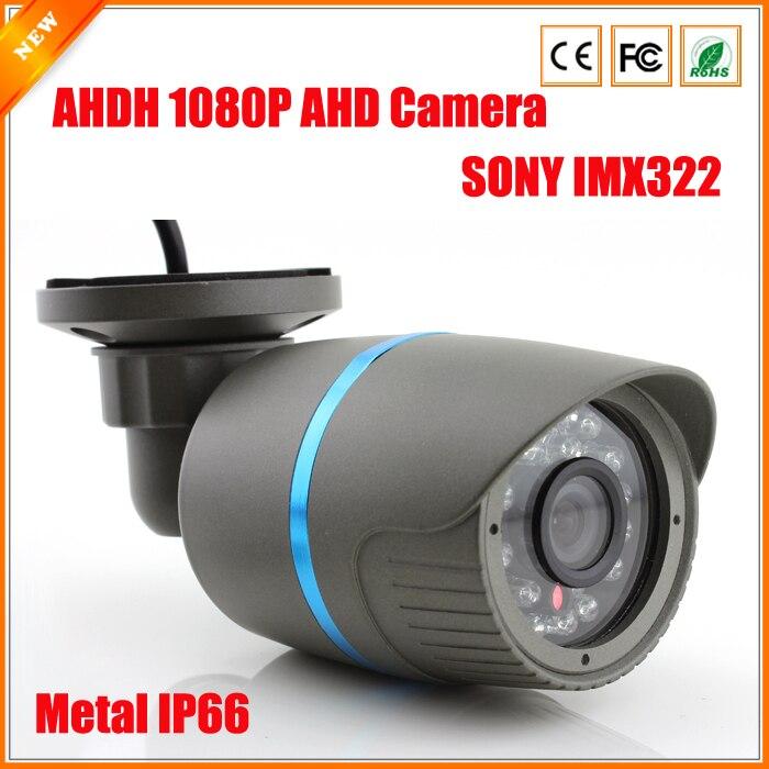bilder für Extrem Geringer Beleuchtung 1/2. 9 ''SONY IMX322 Sensor AHDH 1080 P AHD Kamera CCTV Ir-sperrfilter Kamera AHD 1080 P Im Freien Wasserdichte