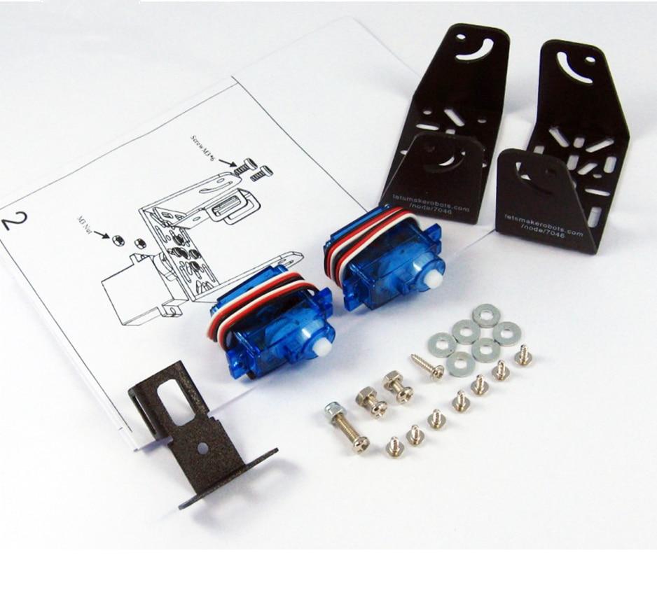 High-tech-spielzeug Dagu Sensor Pan/tilt Kit Roboter Zubehör PüNktliches Timing