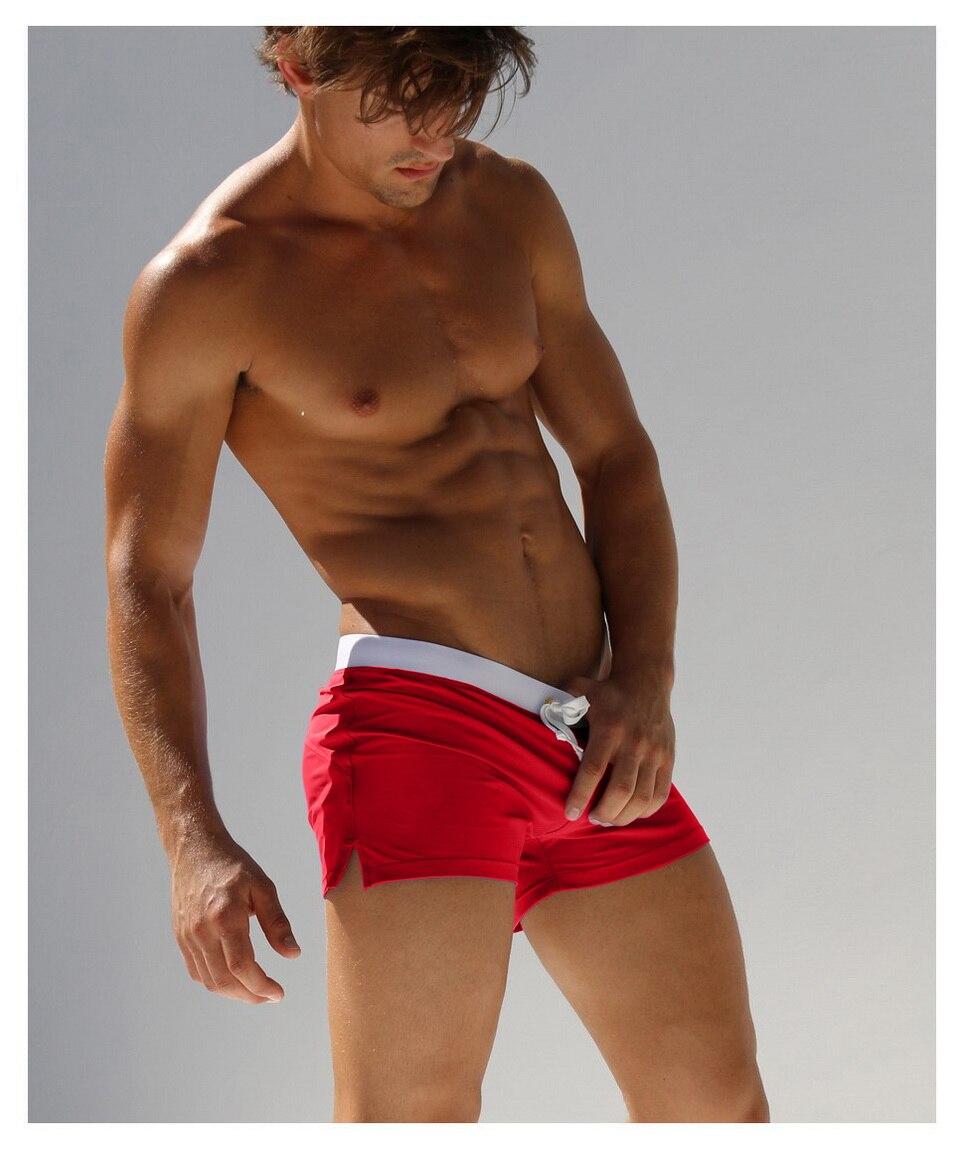 AUSTINBEM Brand Sexy Men Swimwear Board Shorts Beach Shorts Man Swim Short Surf Shorts Beach Swimming Trunks High Quality 2018