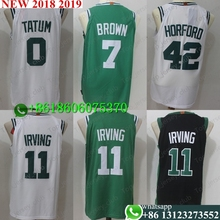 f1c0202fd394 Free shipping A+++ quality Boston Mens Adult  11 Kyrie Irving 7 Jaylen Brown  20 Gordon Hayward 0 Jayson Tatum Jersey