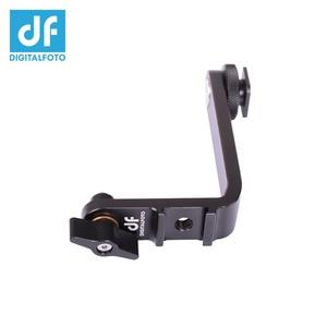 Image 4 - MB01 monitör 360 derece rotasyon L braketi sıcak ayakkabı için 5.5 5.7 inç monitör F550 F570 S5 Feelwrold Bestview smallHD monitör