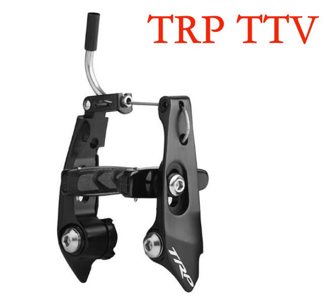 купить TRP TTV Front caliper brake for TT bike road bike front brake time triathlon bicycle parts bike rear caliper brake availabl по цене 4473.77 рублей