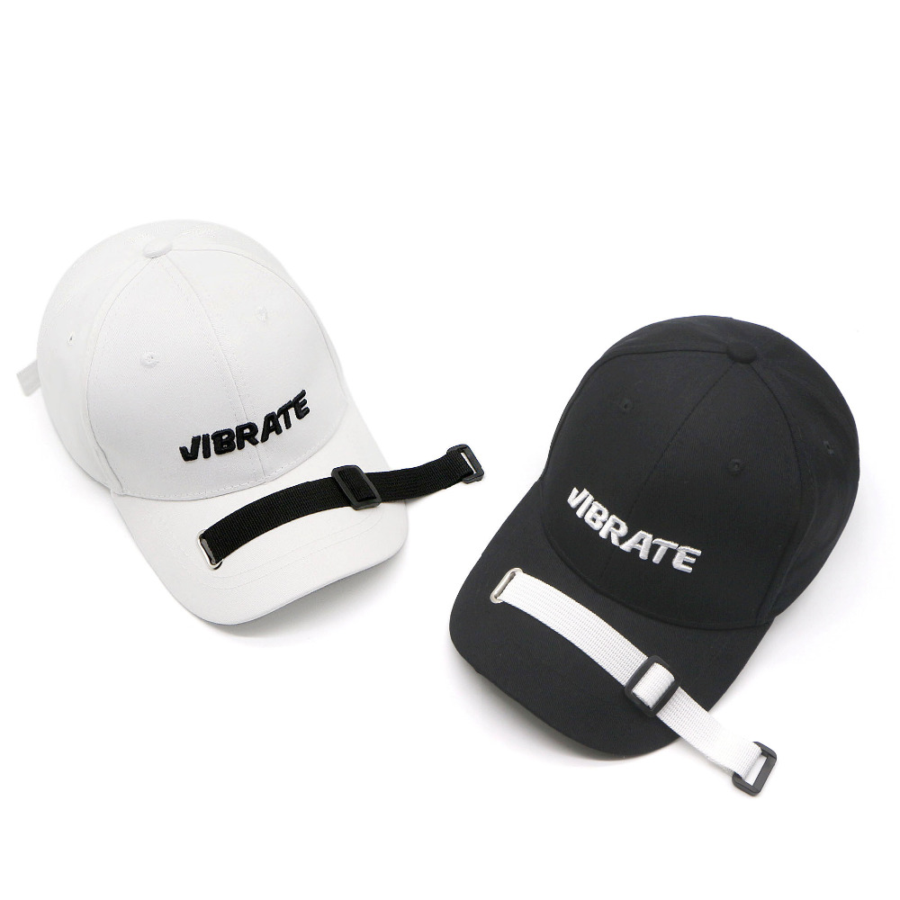 New Gorra Neymar Luhan Sports Hats With Embroidery Letters Long Baseball Caps Chao Ducks With Tongue Cut Lures Comb Hat