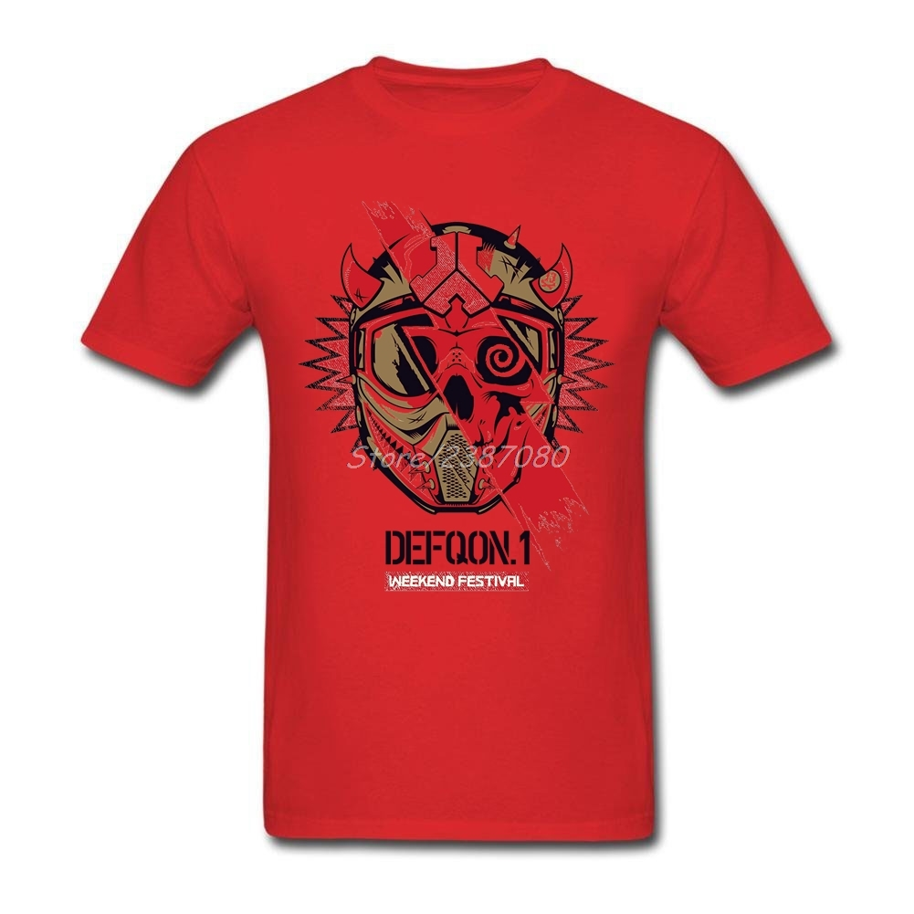 Fashion Defqon.1 T Shirt Hot Selling Mens Shirt Cotton XXXL Short Sleeve T Shirts