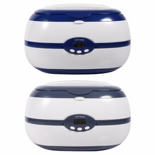 600ml 35W Mini Ultrasonic Cleaner Jewelry Eyeglass Watches Dental Cleaner Cleaning Machine Household Ultrasonic Bath EU/US Plug