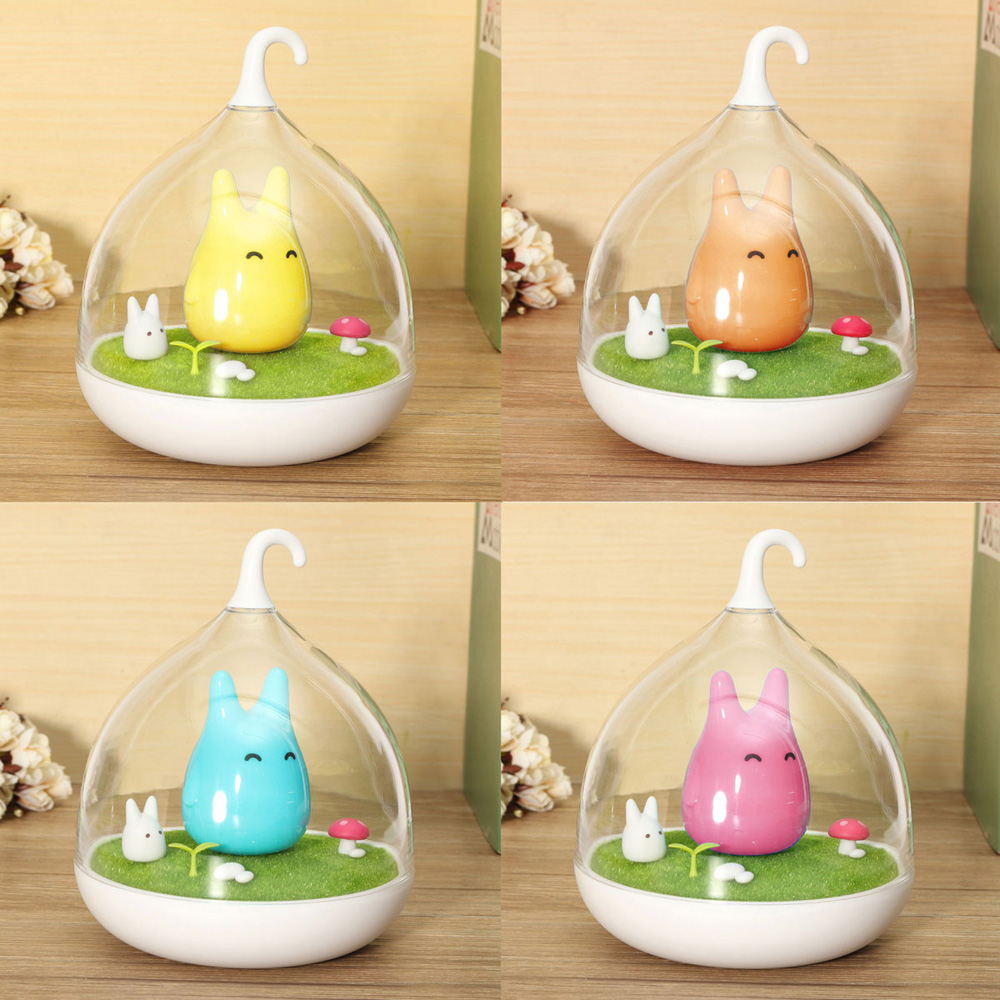 Sale Cage Totoro Wall Lamp Indoor Portable Touch Sensor USB LED Baby ...