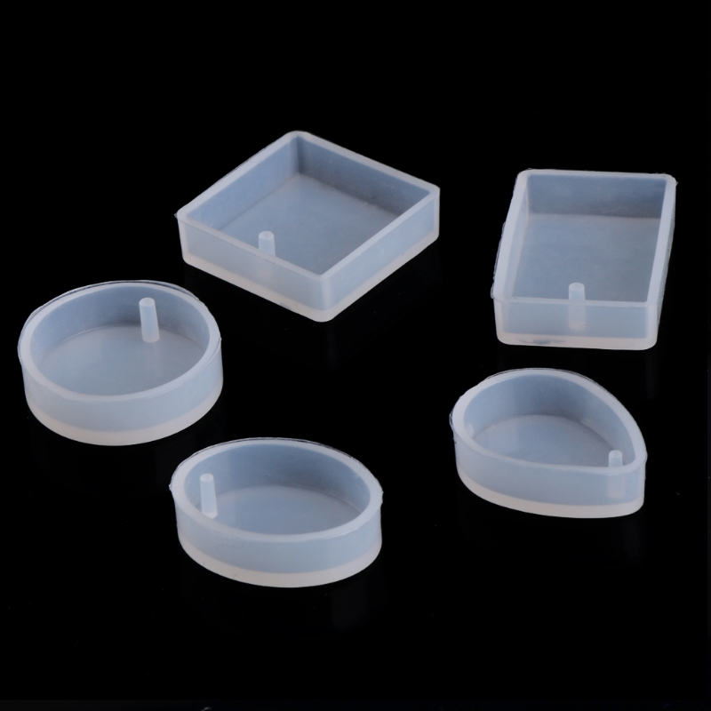1pcs Silicone Mould Craft Mold Resin Necklace Jewelry Pendant DIY Making Tool Crystal Epoxy Mould Epoxy Resin For Jewelry Making