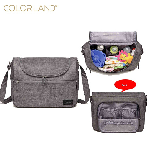 Colorland Brand Diaper Bag For Mom Messenger Tote Hobos Multifunction Waterproof Maternity Bag For Bebe Baby Nappy Bag Fashion