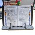 Livro De Aço Ajustável portátil Documento Quadro Titular Reading Desk Livro Estar Atril Bookstand