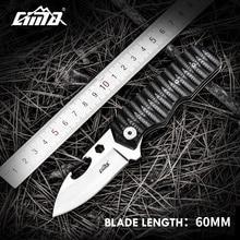 ФОТО cima m602 shark-shaped multi-function tactical folding pocket knife, 440c steel blade, g10 handle, no lock, with opener