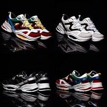 Fashion Male Running Shoes triple S Sneakers Balancia Rriumph Street DAD Chunky Dope Casual GYM Women Sport Men Disruptor