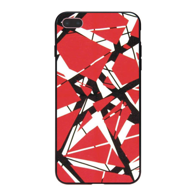 dfc034e6c74 MaiYaCa Eddie Van Halen Graphic Guitar Multi Colors Luxury phone case for  iPhone 8 7 6 6S Plus X 10 5 5S SE 5C Coque Shell-in Half-wrapped Case from  ...