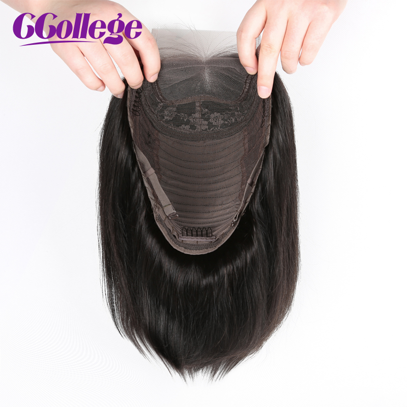 Image 3 - 4x4 Lace Closure Wig Peruvian Straight Bob Wig Glueless Lace Closure Wig Human Hair Wigs For Black Women Non Remy Hair Wig-in Lace Front Wigs from Hair Extensions & Wigs