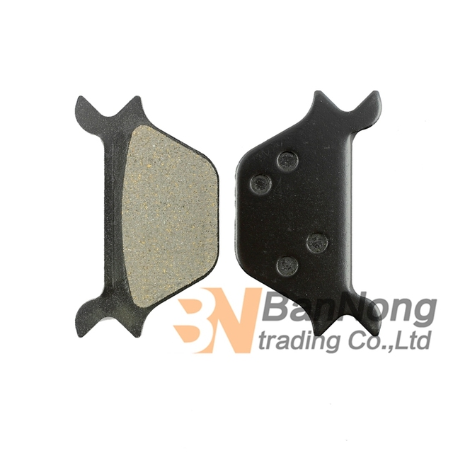 US $18 31 8% OFF|Free shipping Motorcycle Rear Brake Pads For HARLEY HARLEY  FXDWG/FXR/FXRS/FXRT 87 99 HARLEY FXRD/FXLR Late 87 99-in Brake Disks from