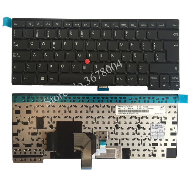 NEW SP laptop keyboard FOR LENOVO THINKPAD T440 T440S T431S T440P