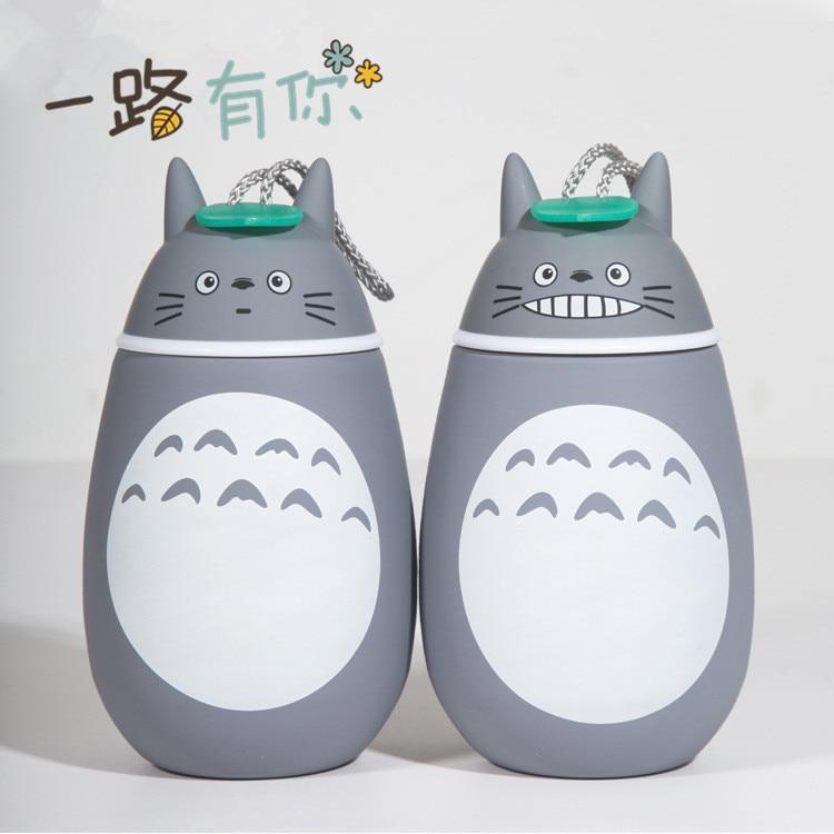 My Neighbor Totoro Insulation Cup Cartoon Stainless Steel Water Bottle Children Gift Birthday Gift Christmas Gift