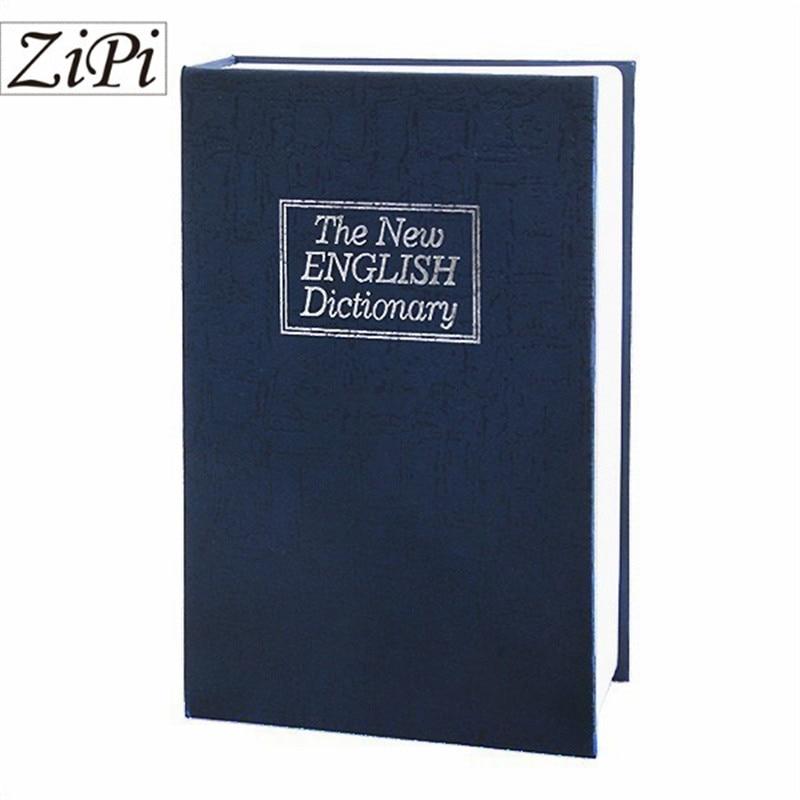 Dictionnaire Secret de luxe livre coffre-fort argent caché boîte serrure de sécurité serrure à clé coffre-fort chaud nouveau cadeau de noël créatif