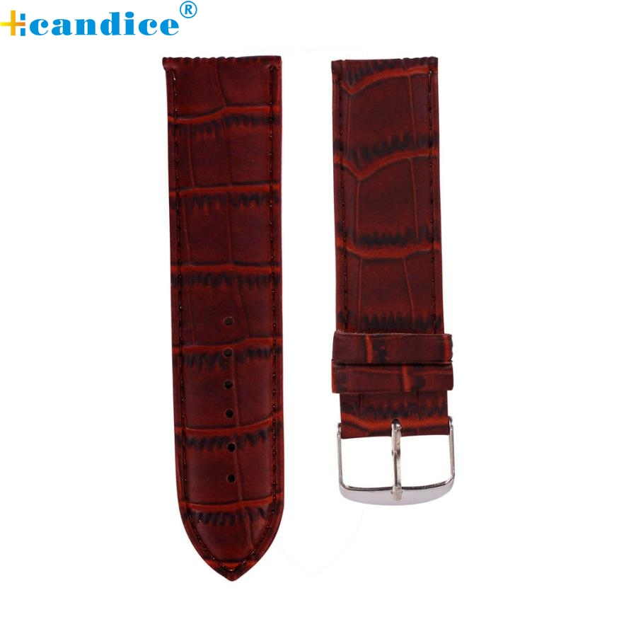 watch strap  12mm High Quality Soft Sweatband PU Leather Strap Steel Buckle Wrist Watch Band Apr11 supper fun high quality soft sweatband leather strap steel buckle wrist watch band 3522 brand new luxury free shipping