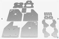 SWMAKER Openbuilds OX CNC Router Machine Parts Accessory FL3D OX CNC Plates Kit Set DIY 3D