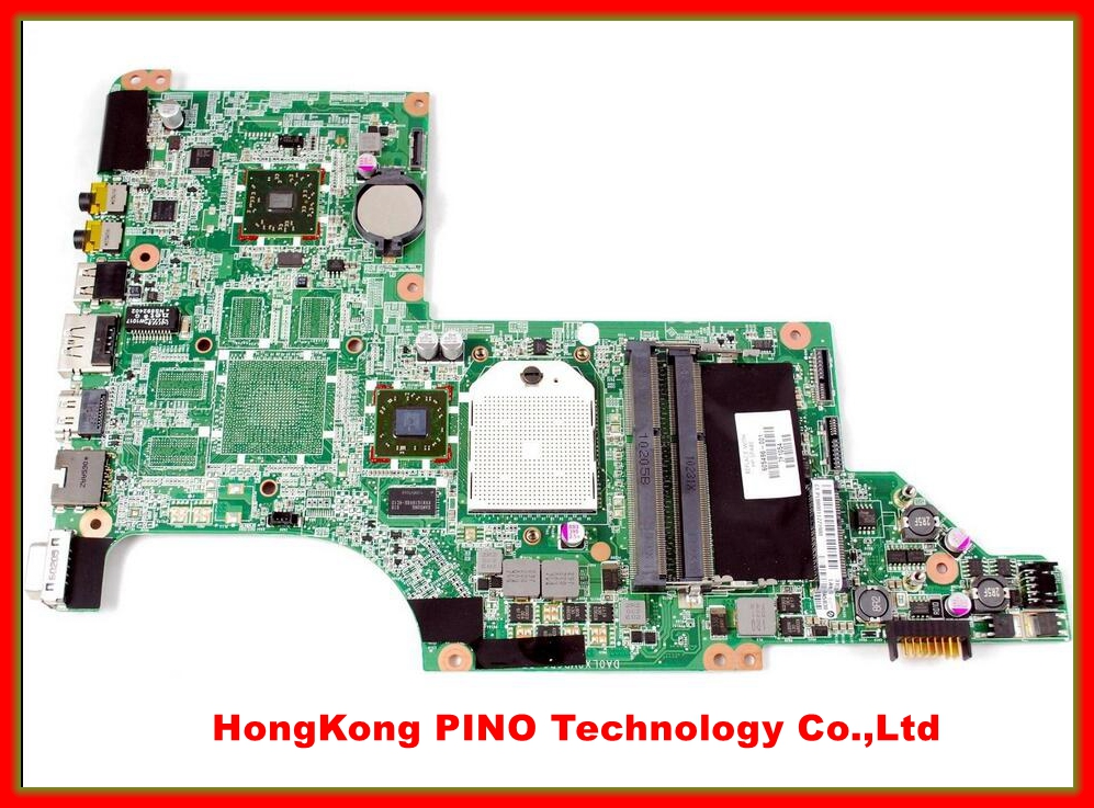 605496-001 laptop Motherboard for hp DV7-4000 system board DAOLX8MB6D1 mainboard 100% tested