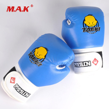 Boxing-Glove Training Kick-Box Martial-Arts Taekwondo Child for Kids Protector Practice
