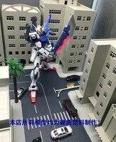Scene world: 1:144 100MG RGHG gunda model, building construction plastic