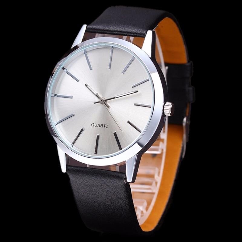 2018 Casual Quartz Watch Men's Watches Luxury Brand Famous Wrist Watch Male Clock For Men black