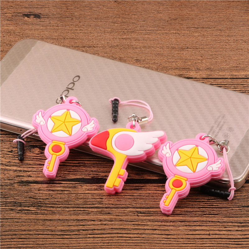 SIANCS Cartoon 3.5mm Jack Headphone Port Dust Plug Cute Anime Phone Accessories For IPhone Samsung Smartphone Anti Dust Plug