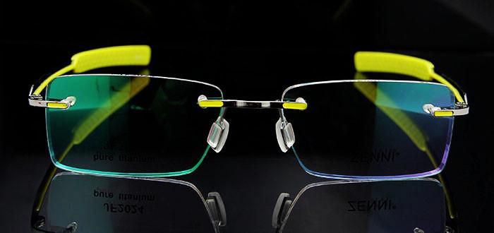Titanium Eyeglasses Rimless (4)