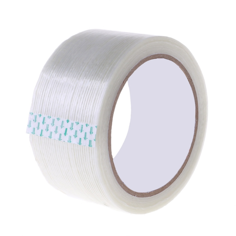 New Ripstop Fibrous Tape Grid Adhesive Film Awning Kite Tent Repair Patch Tape  95AE