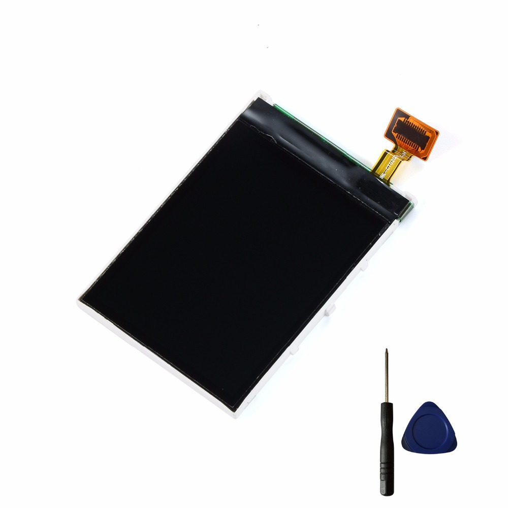 Original Phone LCD For Nokia 5130 5000 C2-01 5220 3610 5220 7100S 7210C 2700 2730 LCD Display Screen + Tools