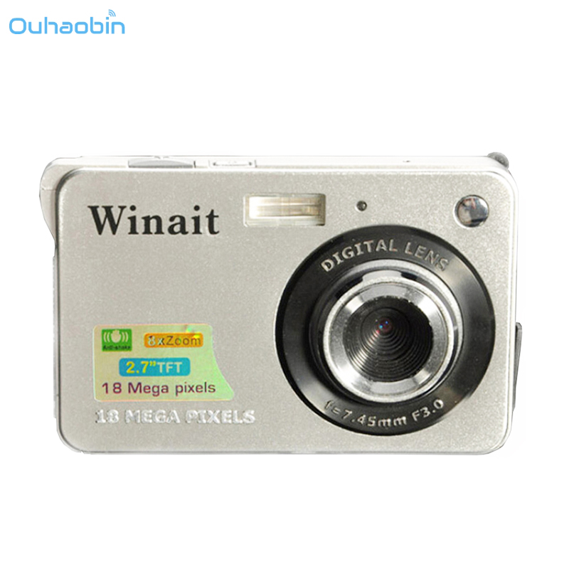 Ouhaobin 500M CMOS Mini Camera HD 18 Mega Pixels 2.7 Inch Camera TFT LCD Screen 720P Digital Camera Photos Children Gift Oct26