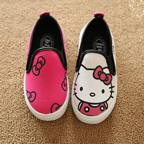 hello kitty children shoes for toddler girls baby canvas