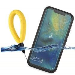 Ip68 à prova dip68 água caso para huawei companheiro 20 pro caso à prova de choque nadar mergulho capa para huawei companheiro 20 pro 360 proteção escudo do telefone