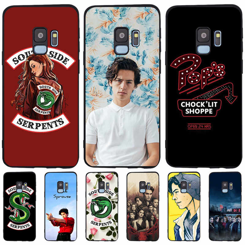 American TV Riverdale Southside Serpents For Samsung Galaxy S6 S7 Edge S8 S9 S10 Plus Lite Note 8 9 Case Cover Coque Etui Funda
